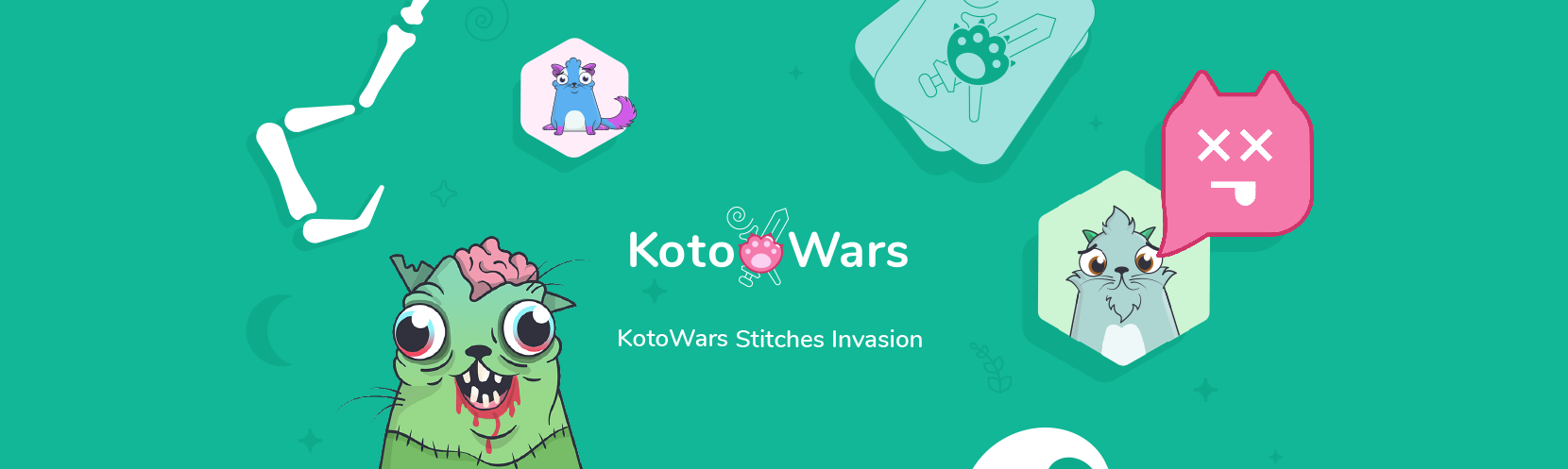 Kotowars – cryptocollectible card game. Play with your CryptoKitties